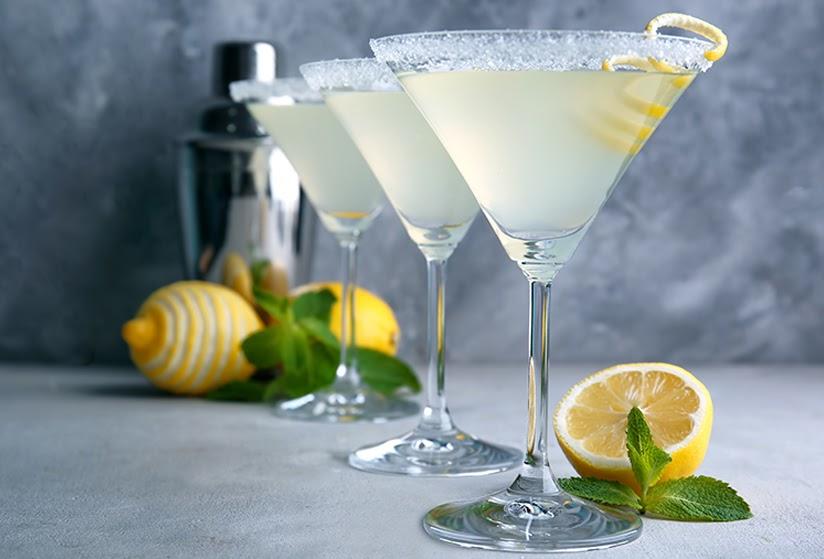 Lemon Drop Martini thanh mát nơi cổ họng