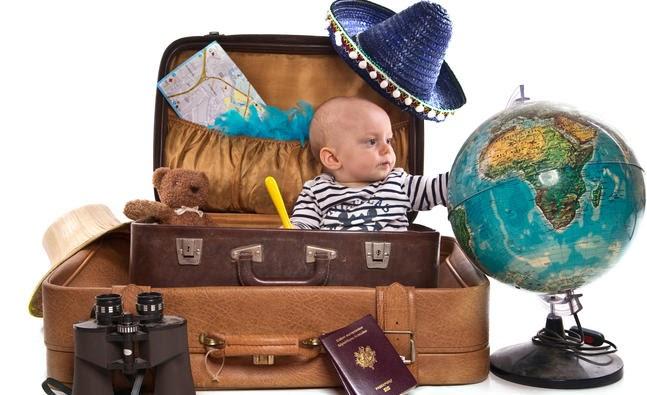 du lịch khi đem theo con nhỏ