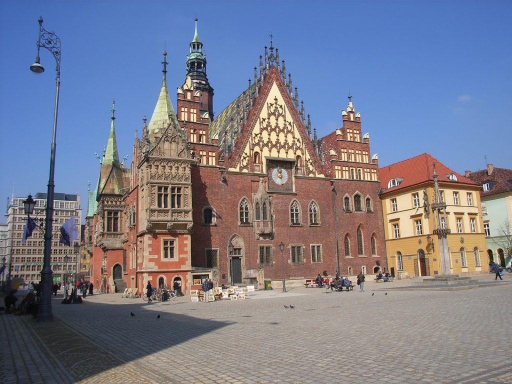 Một góc của thành phố cổ nhất Ba Lan