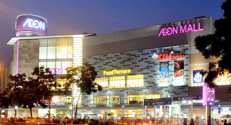 Aeon Mall Long Biên cách nhà AN chỉ 3km