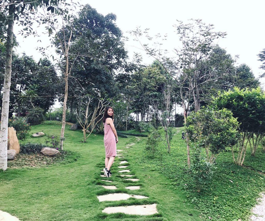 Luôn tràn ngập cây xanh và hoa tươi
