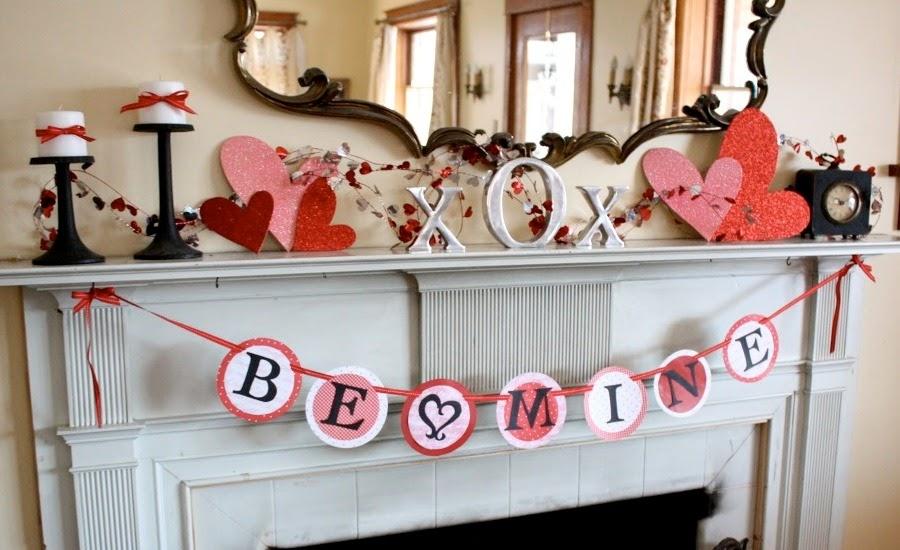 Trang hoàng nhà cửa thật lãng mạn sẽ làm cho ngày Valentine của đôi bạn thêm đáng nhớ