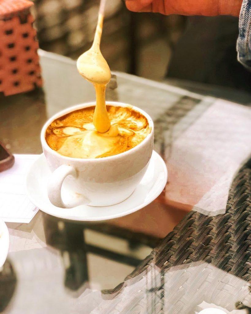 Quán cafe trứng ở Hà Nội