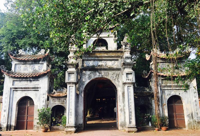 Đền Mẫu ở Phố Hiến