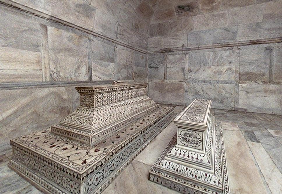 Lăng mộ của vua Shah Jahan và hoàng hậu Mumtaz Mahal