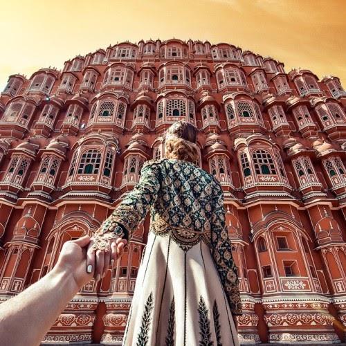 Vẻ đẹp bề thế của Cung điện gió Hawa Mahal