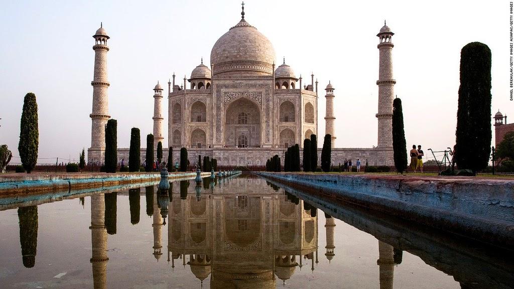 Vẻ đẹp tráng lệ của đền Taj Mahal xứng đáng với danh hiệu 1 trong 7 kỳ quan của thế giới
