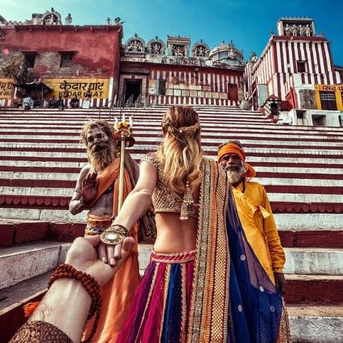 Thành phố Varanasi lộng lẫy bên sông Hằng linh thiêng
