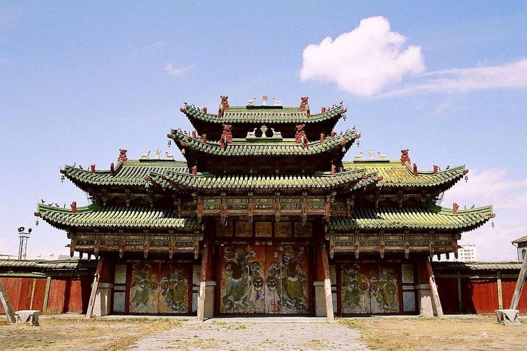 Cung điện mùa đông Mông Cổ trường tồn cùng năm tháng