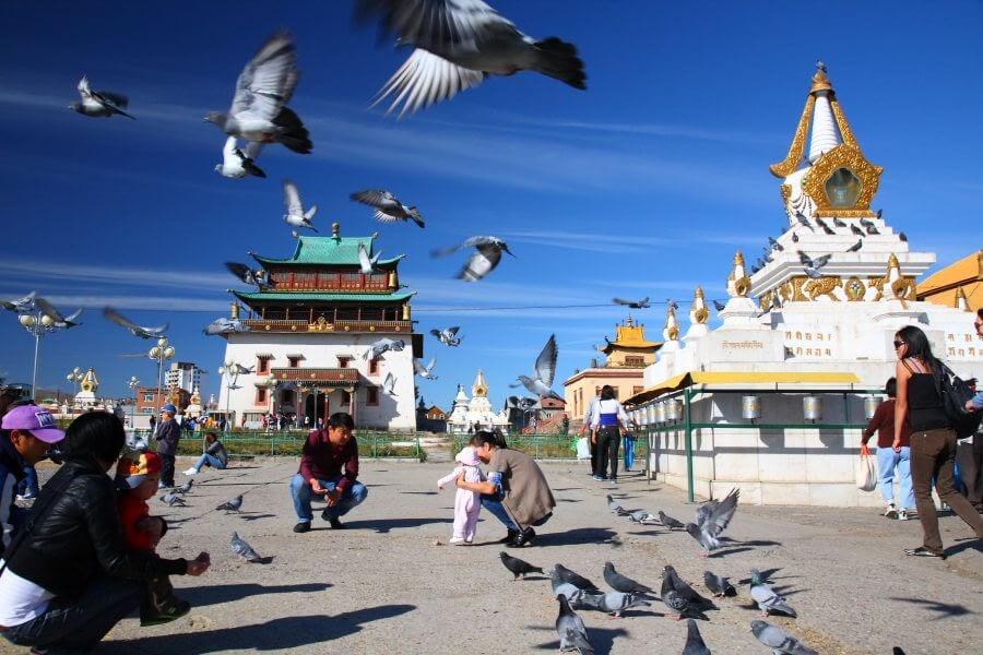 Nơi đây trở thành địa điểm du lịch Mông Cổ nổi tiếng bậc nhất