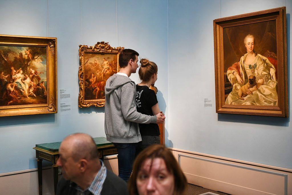Những bức họa nổi tiếng tại bảo tàng Puskin