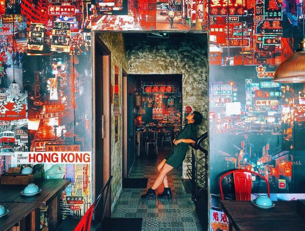 Góc phố HongKong ở Việt Nam chất như nước cất