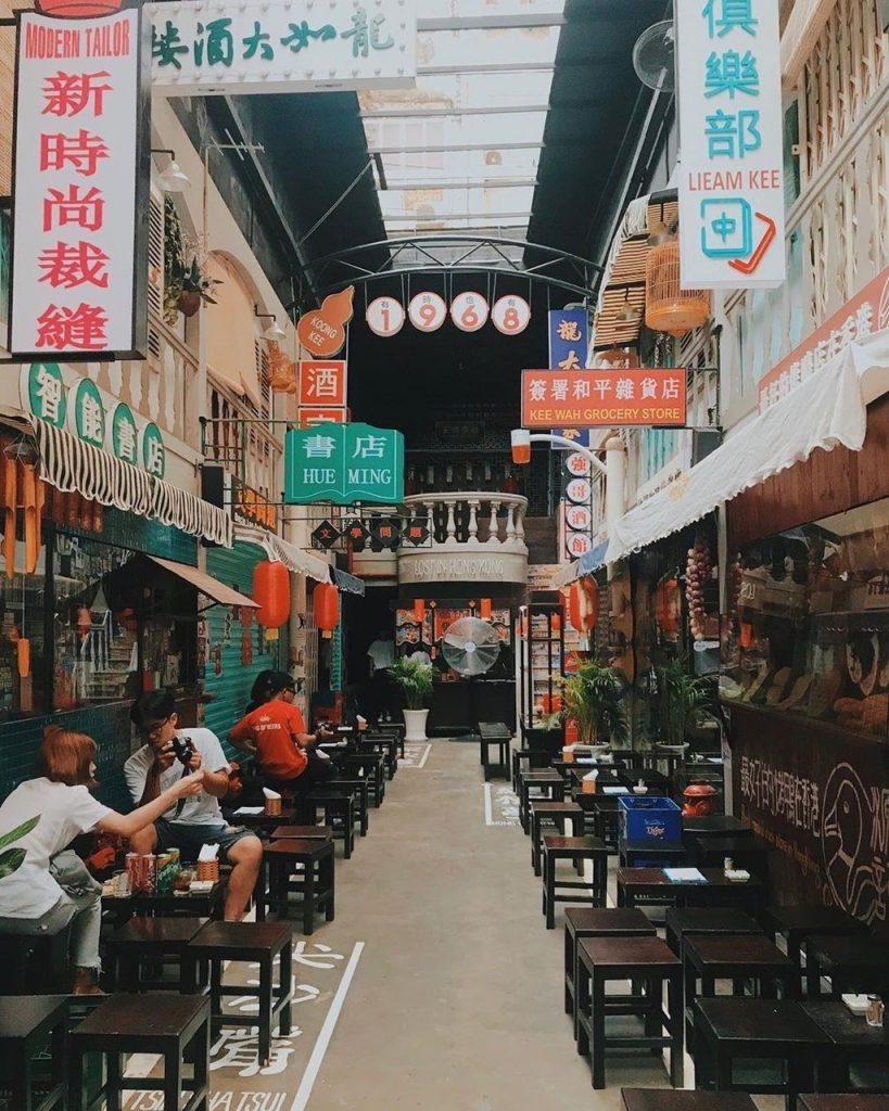 Góc phố hongkong ở Việt Nam