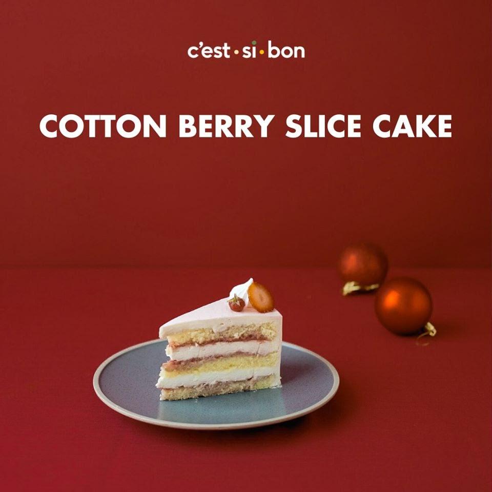 Các loại bánh ga tô chính là thức quà ngon lành tại C'est ci bon