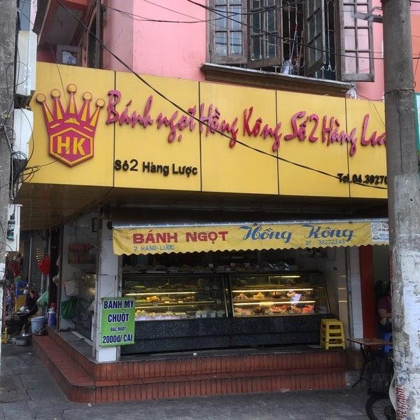 Quán bánh ngon ở Hà Nội