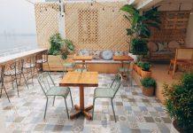 Quán cafe Hồ Tây