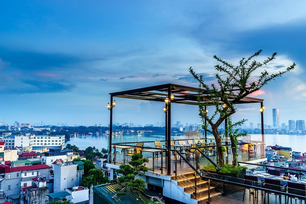 Quán cafe rooftop Hà Nội