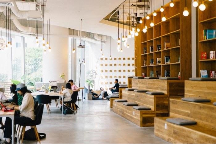 quán cafe workshop Sài Gòn
