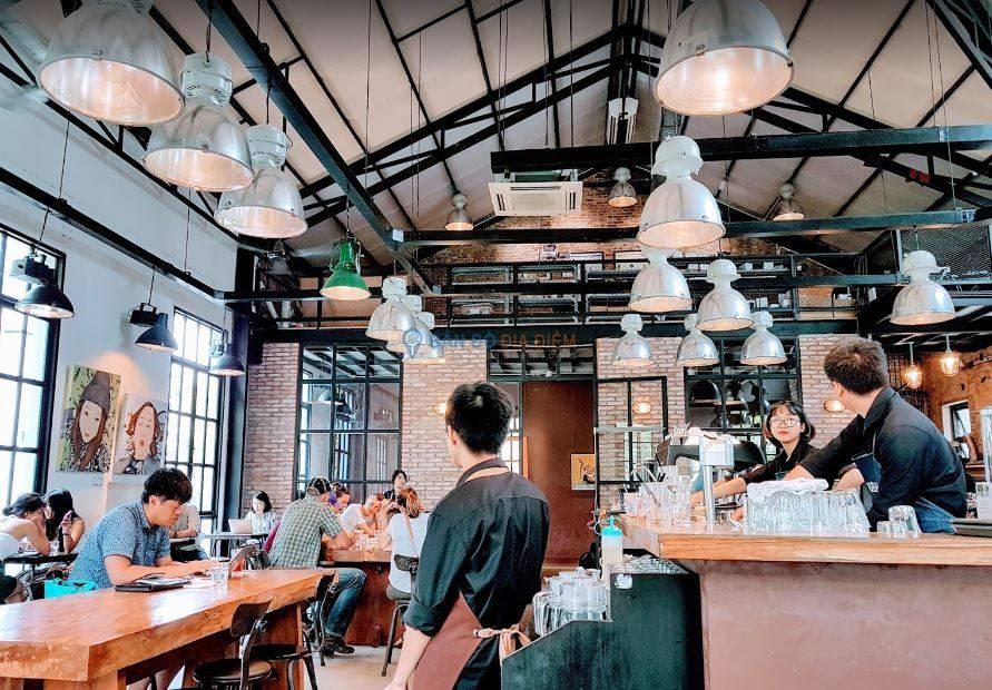 Quán cafe workshop Sài Gòn cho dân nghiền cà phê