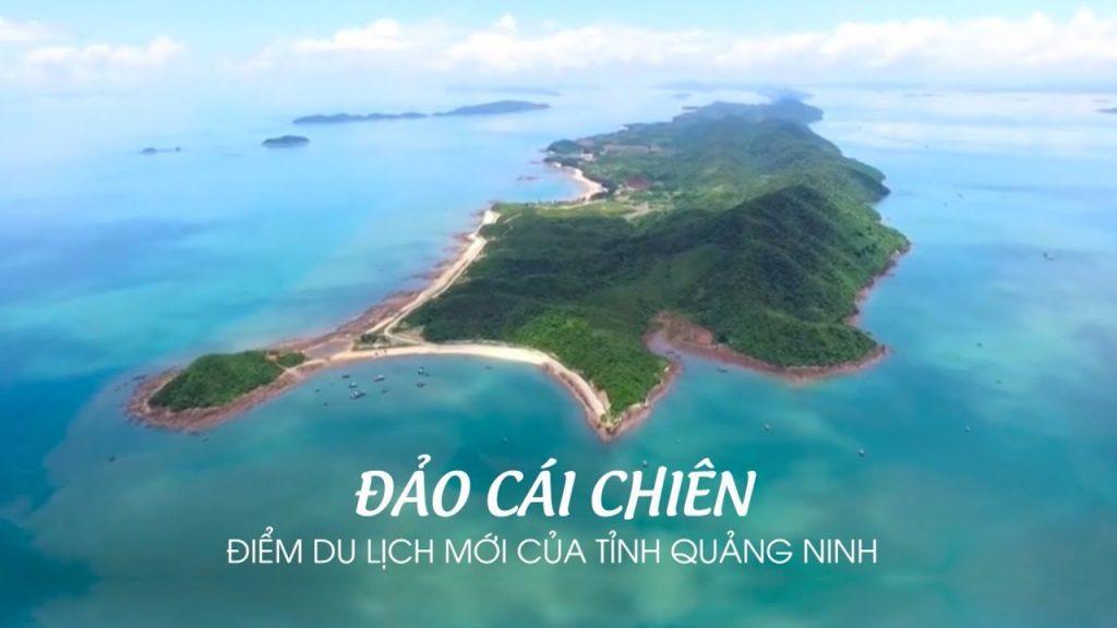 Đảo Cái Chiên - Hòn đảo hoang sơ ở Quảng Ninh
