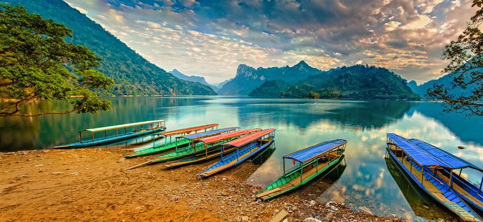 Hồ Ba Bể được UNESCO xếp hạng là 1 trong 20 hồ nước ngọt đẹp nhất thế giới.