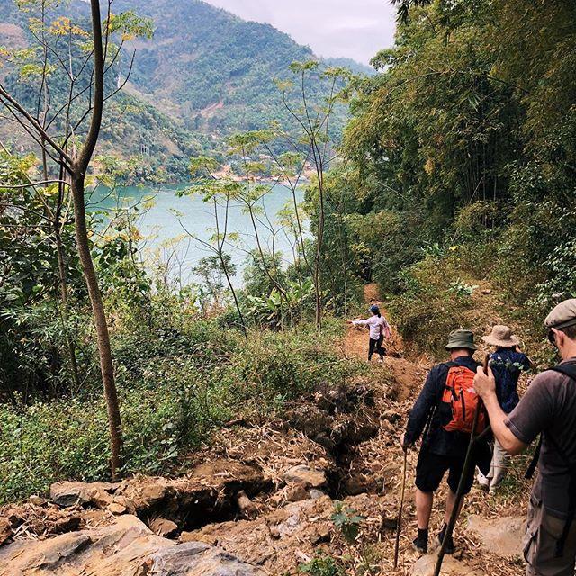 Trekking ở Đà Bắc