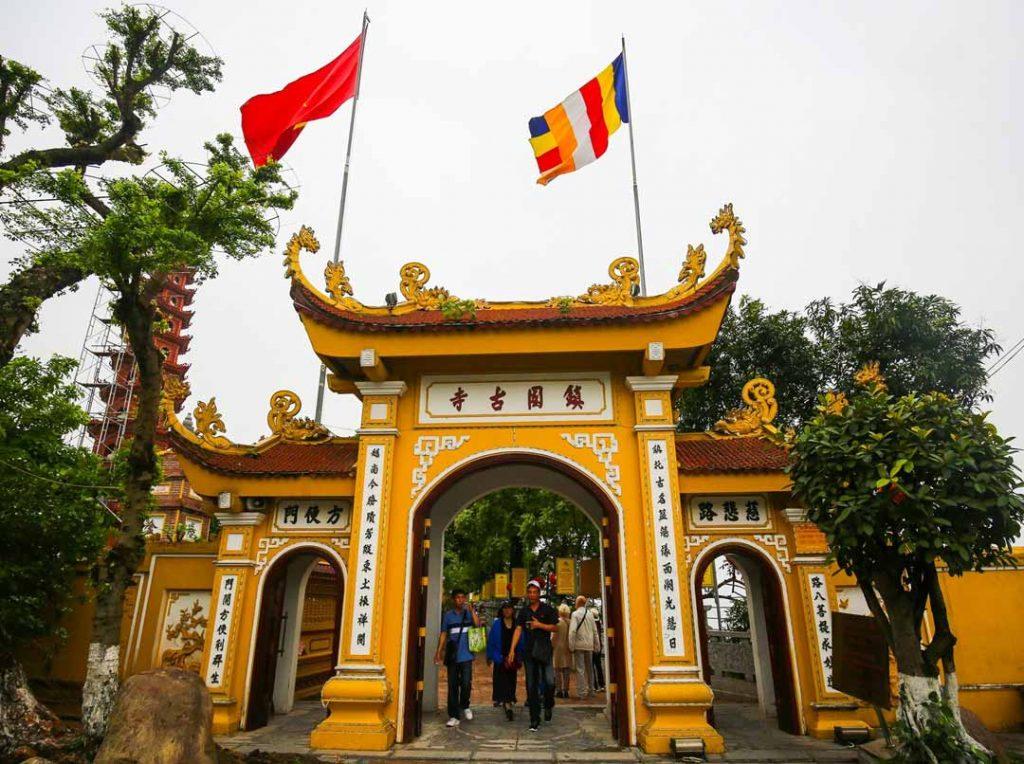 Cổng Tam Quan chùa Trấn Quốc Hà Nội