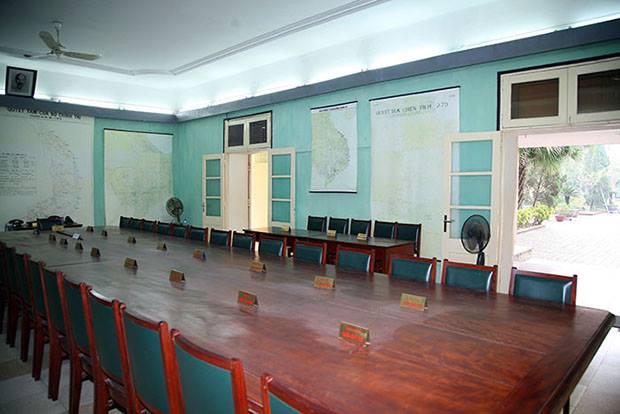 Phòng họp Bộ Chính trị và quân ủy Trung ương