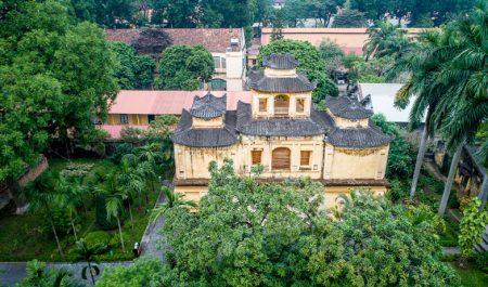 Hoàng Thành Thăng Long là khu di tích lịch sử của kinh thành Thăng Long