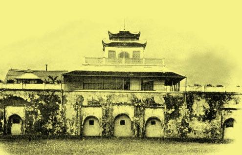 Dấu ấn Hoàng thành Thăng Long là khu di tích lịch sử của kinh thành Thăng Long xưa