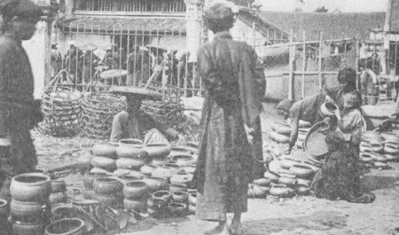 Làng gốm cổ Bát Tràng xưa