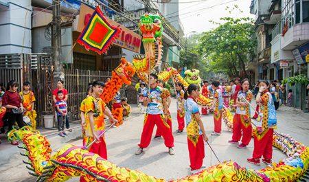 Lễ hội truyền thống ở Bát Tràng