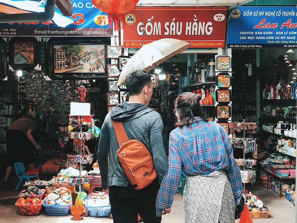 Chợ gốm Bát Tràng Hà Nội