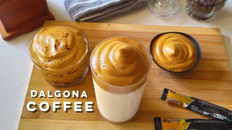 cà phê dalgona