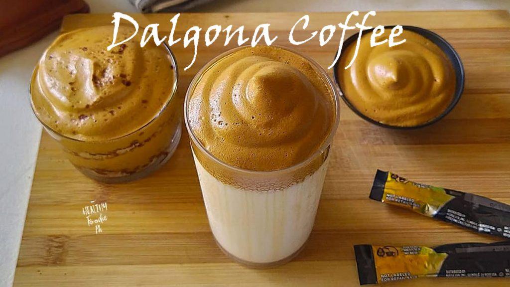 Món ăn hot trend mùa dịch - Dalgona Coffee
