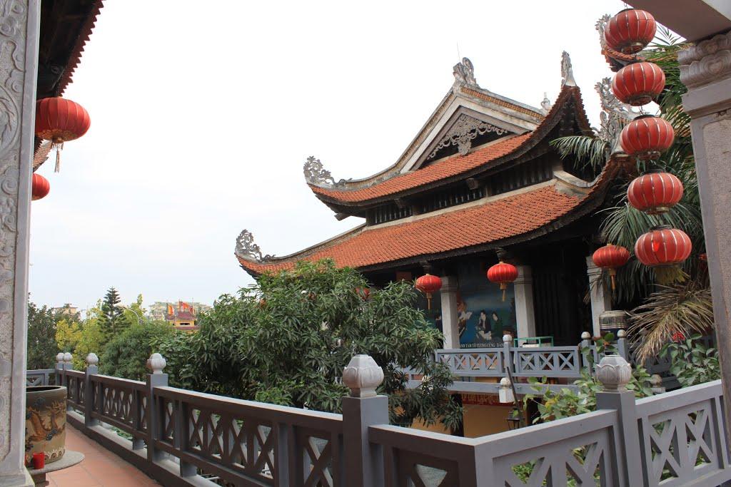 ngôi chùa cổ Hà Nội