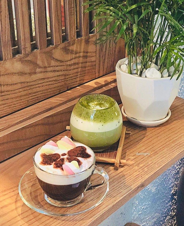 Quán café có góc studio - TAIMA Art Cafe