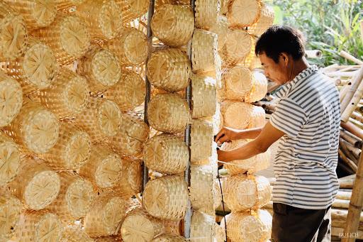 Làng nghề truyền thống mây tre đan Phú Vinh