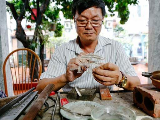 Thương hiệu làng nghề truyền thống Hà Nội - Nghề luyện kim Định Công