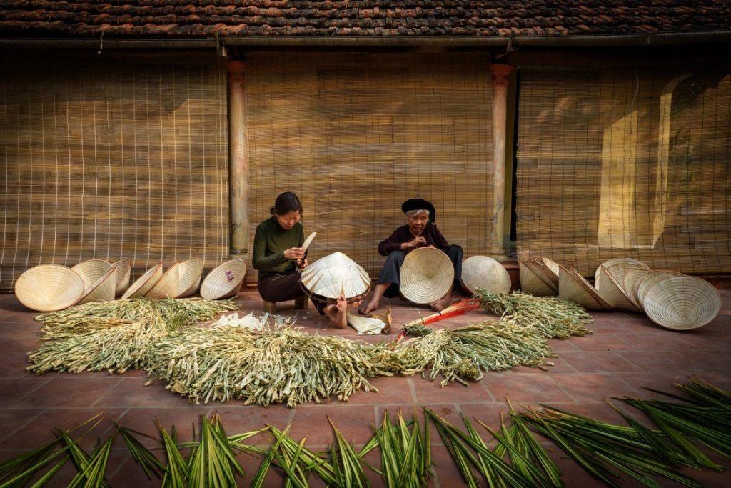 Thương hiệu làng nghề truyền thống Hà Nội - làng nón Chuông