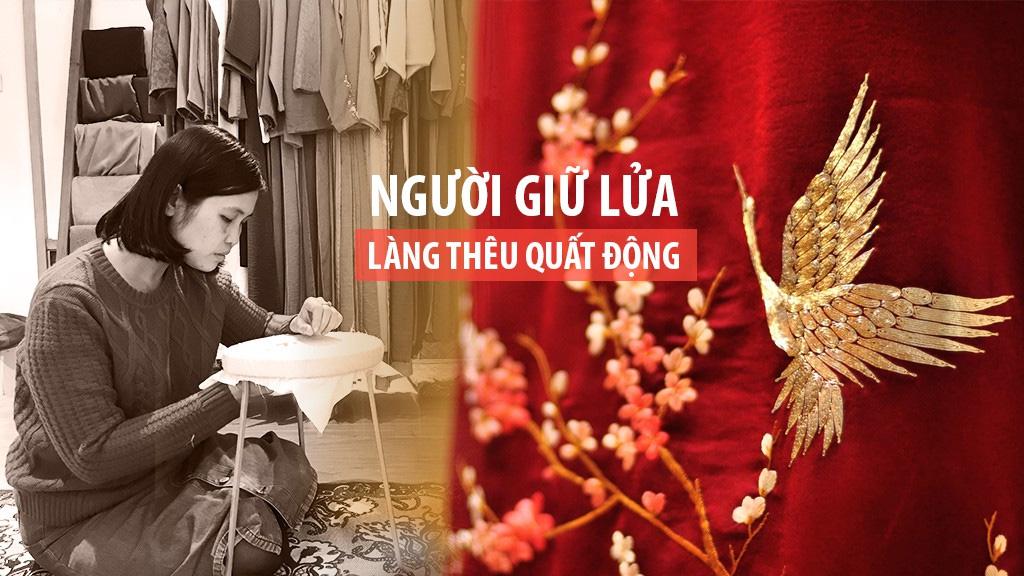 Thương hiệu làng nghề truyền thống Hà Nội - LÀNG THÊU QUẤT ĐỘNG