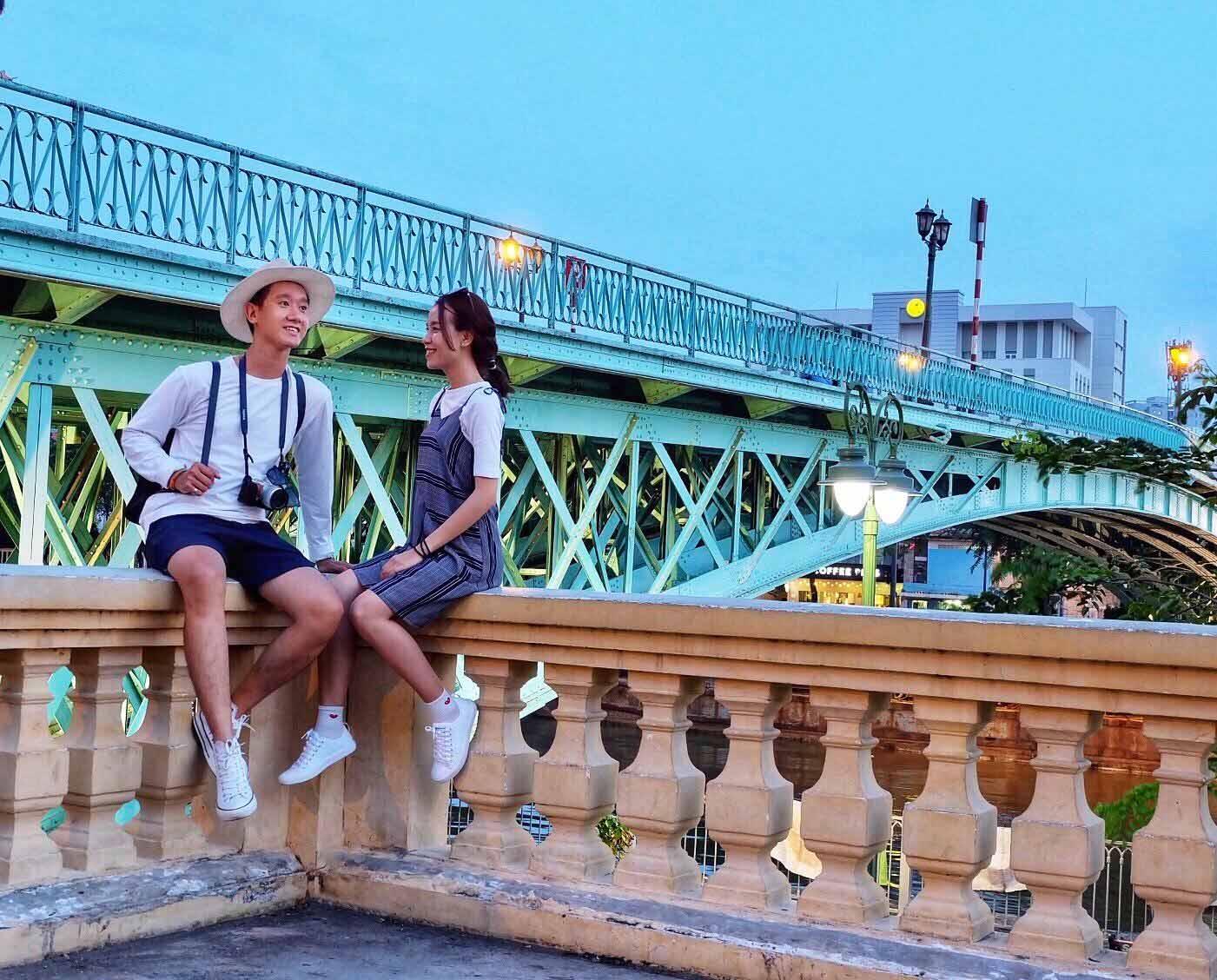Cây cầu đẹp nhất Viêt Nam - cầu Long Biên