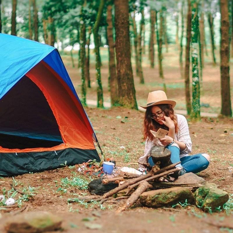 Camping ở Ba Vì