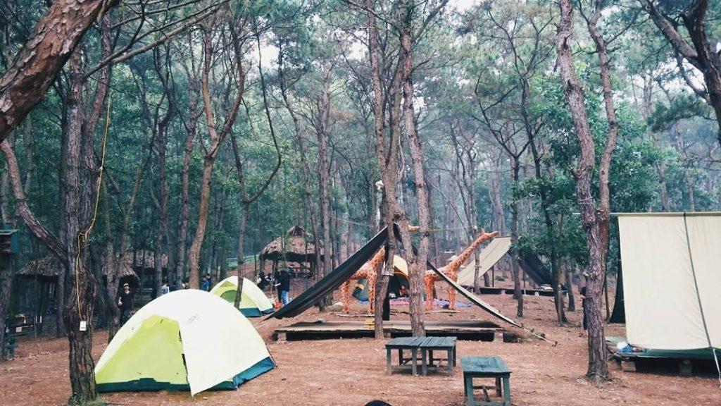 Khu du lịch sinh thái Bản Rõm - địa điểm camping gần Hà Nội