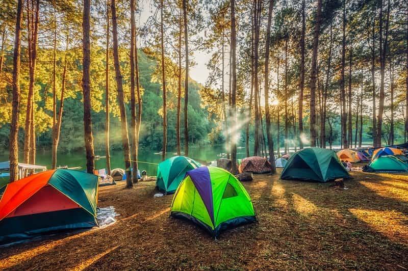 Ba Vì là địa điểm camping gần Hà Nội