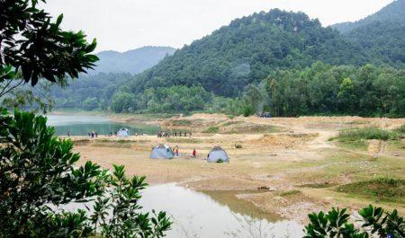 Núi Hàm Lợn - địa điểm camping gần Hà Nội