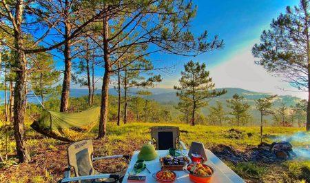 Địa điểm Camping ngay gần Hà Nội