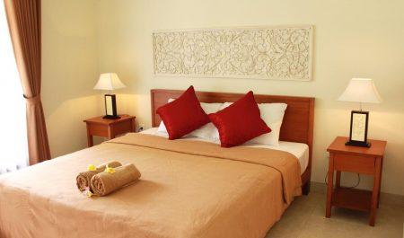 Phòng ngủ của homestay Mona