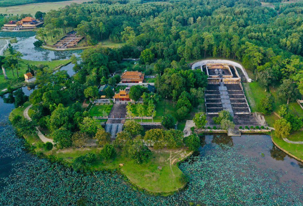 Lăng Gia Long có phong thủy đẹp nhất trong các lăng tẩm ở Huế