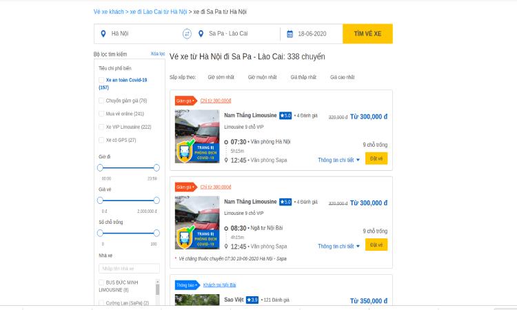 Có thể đi du lịch Sapa mùa hè bằng cách đặt xe trên vexere.com